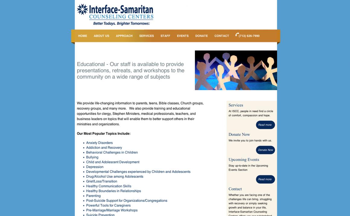 Interface-Samaritan Counseling Centers